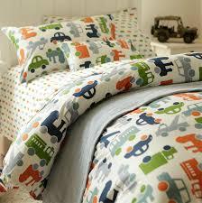 Cute cartoon car bedding settwin full teenage kids boy plush cotton