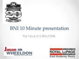 Bni Presentation Authorstream