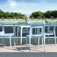 plastic square cafe table light