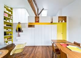... Multifunctional Furniture For Smalls Fashion Designer39s Stylish Tiny  Apartment In Paris Has Its Own Home Decor ...