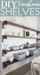 Best 25+ Farmhouse shelving ideas on Pinterest | Farmhouse wall mirrors,  Living room shelf decor and Above couch decor