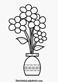 Small Picture of Vase Coloring Page Flower Vase Coloring Page Printable Vase