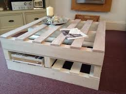 15 diy pallet coffee table with storage