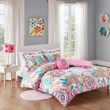 corinne 3 piece pink twin twin xl fl comforter set