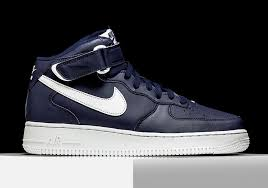 nike air force 1 mid midnight navy sneakernewscom air force 1 mid