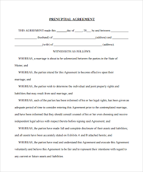 Sample Prenup Sample Of Prenuptial Agreement Prenup Examples Prenup Example