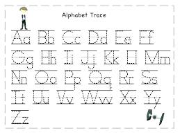 free kindergarten alphabet writing worksheets