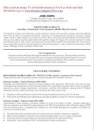 Business Analyst Resume Pdf By John Smith ...