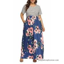 Allegrace Size Chart Action Sports Clothing Listha Floral Maxi Dress Plus Size