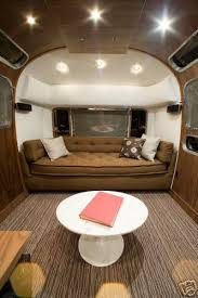 Airstream Interior Design Minimalist Cool Decorating Design