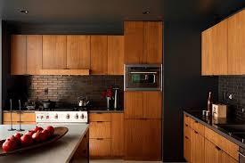 dark wood modern kitchen cabinets. Century Kitchen Cabinets Dark Wood 5 Mid Modern Exterior E