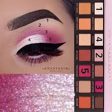 abh modern renessaince cute pink eye shadow look makeup looks