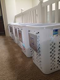 laundry basket solutions for small spaces. Exellent Laundry Labeled Laundry Baskets For Large Family For Basket Solutions Small Spaces Encouraging Moms At Home