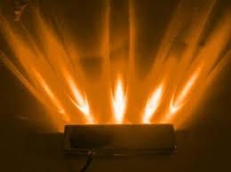 5 LED Amber Lazer Light, w/ 12 Volt 4-Pin Plug – Coolerguys