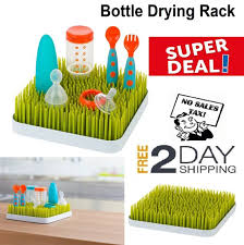 boon grass countertop baby bottle cup drying rack green bpa pvc phthalates free
