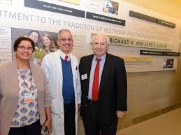 anne horbatuck d vp of ambulatory services updates uconn donor celebration 1 2016