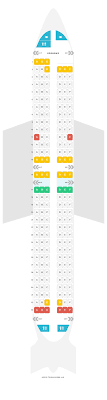 Seat Map Boeing 737 800 738 Jet2 Com Find The Best Seats