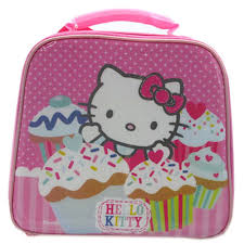 Hello Kitty Cupcakes Lunch Bag Hello Kitty Lunch Bag Novelty Lunch Bag