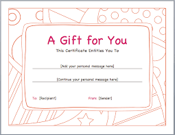 Gift Certificate Wording Wording For Gift Certificates Business Vouchers Are Basically For