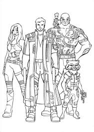 Guardians Of The Galaxy Coloring Pages Kids N Fun Com 40