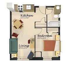 Small one bedroom apartments apartment designs inspiring nifty layout modern
