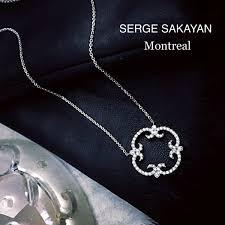 antique vintage diamond circle pendant by serge sakayan jeweller joallier montreal 02ss38w18 a