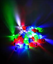 Joyin Lights 12 Led Flashing Bumpy Rings And 4 Flashing Slotted Shades