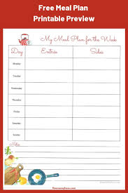Week Meal Plans December Weekly Meal Plan Christmas Planning Flour On My