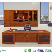 Wood Office Counter Design Hot Item Factory Office Furniture Customized Office Counter Table Design B1609