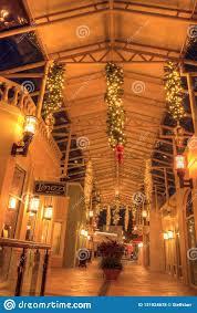 Baltimore Christmas Lights 2018 Christmas Lights Glow At Sunset Over The Colorful Shops Of
