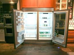 glass front fridge. Glass Front Refrigerator Within S New Fridge Makes Its Door Clear When You Step Plans 7 . Secondary Image