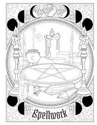 physics coloring book pdf printable pages for your book of shadows