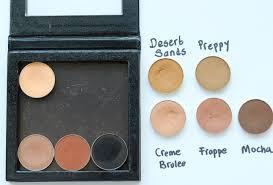 my top five makeup geek matte eyeshadows