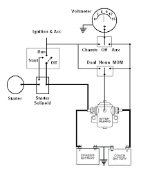 need wiring diagram for 1979 m500 4 wire isolator you can simply use a on off switch to energize deenergize the relay allows you to 1 use the alternator to charge coach battery