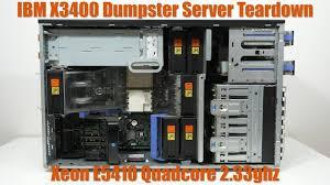 Ibm Server X3400 Orange Light Teardown Friday Dumpster Xeon Server Ibm X3400
