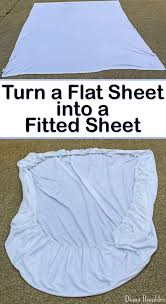 fitted sheet vs flat sheet how to sew a fitted sheet from a flat sheet tutorial