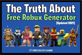 The Truth About Free Robux Generator [2021] | by Regulus Game | Feb, 2021 |  Medium