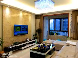 Tv Living Room Home Decor Living Room With Tv On Wall In 123bahen Ideass And