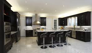 kitchens with white appliances and dark cabinets kitchen paint color schemes black stainless appliance set colors