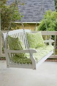 Knife Edge Rocking Chair Cushion Set Home Furniture