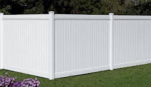 the american fence company vinyl fencing 6 white polid privacy pvc afc