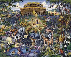 noah s ark religious jigsaw puzzle