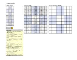 Sudoku Puzzel Solver Sudoku Puzzle Solver