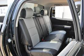 2008 toyota tundra genuine leather seat covers