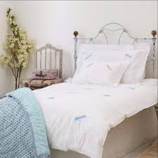 Dragonfly – SARAHK designs & Blue dragonfly embroidered cot bed duvet cover Adamdwight.com