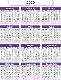 Small Printable 2020 Calendar 2020 Calendar Templates And Images
