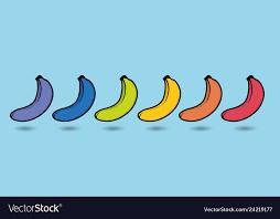 Rainbow Ripeness Bananas Chart