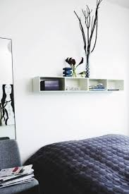 Minimalist Alternative to a bedside table