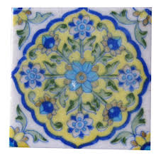 assorted designer handmade tiles