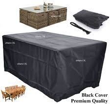 outdoor table covers. WATERPROOF GARDEN PATIO FURNITURE COVER RECTANGULAR OUTDOOR RATTAN TABLE Outdoor Table Covers R